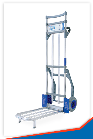 PARCEL TROLLEY WITH 600 X 280 MM PLATE