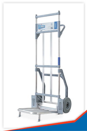 PARCEL TROLLEY WITH 430X 350MM PLATE