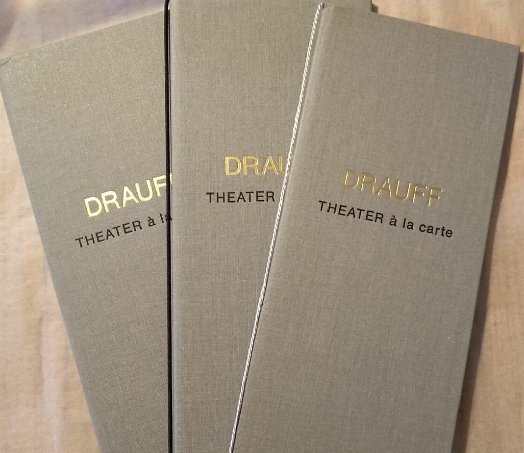 Theater à la carte - DRAUFF's neues Format