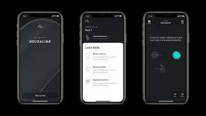 Neuralink phone app visual