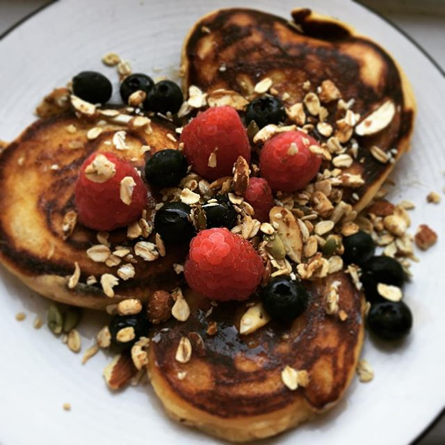 Sunday fuel #nordicfoodclub #nordicfood #helgkos #energyfood #panekaker #pancakes #pancakesunday #søndagkos