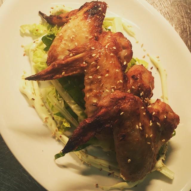 Satay Chicken Wings #SummerMenu