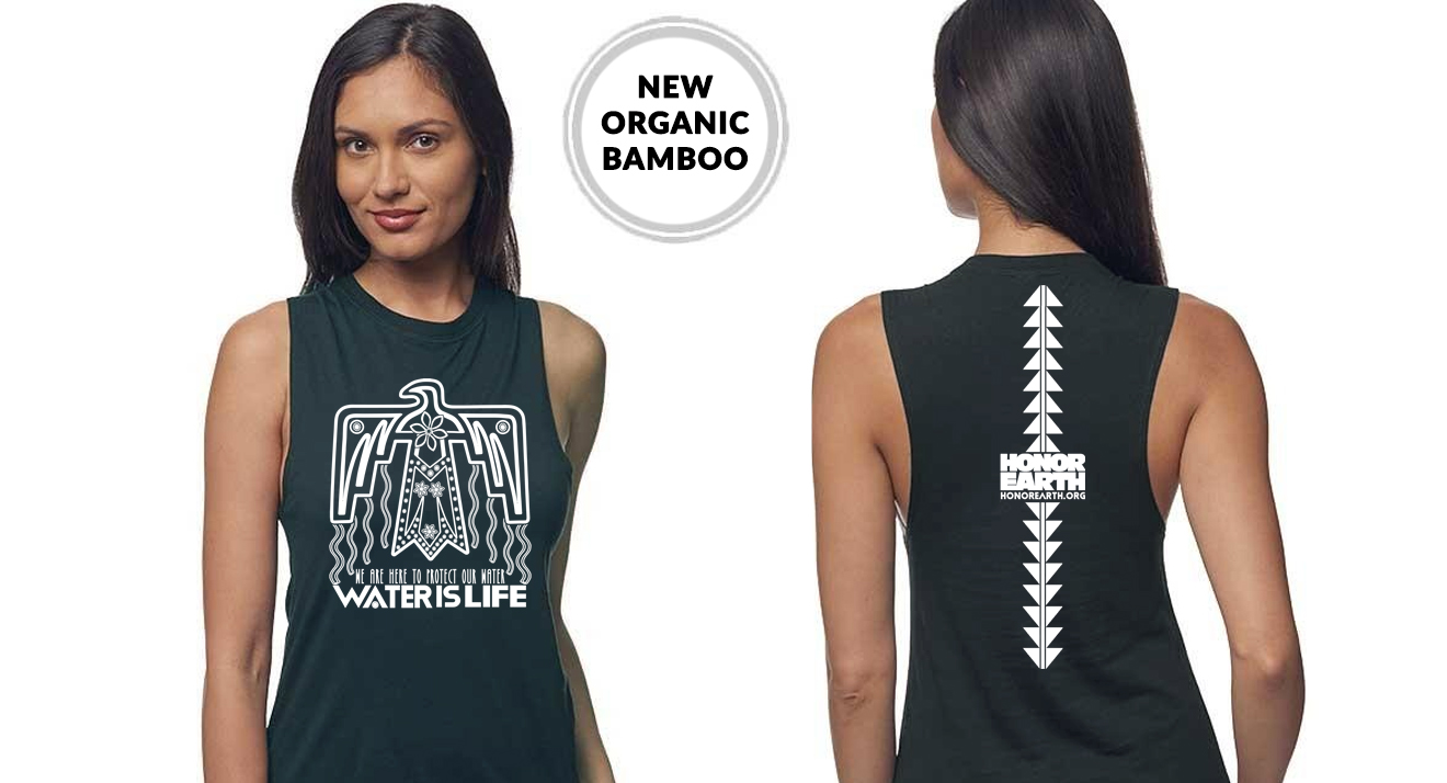Water is Life Grey Muscle Tank.jpg