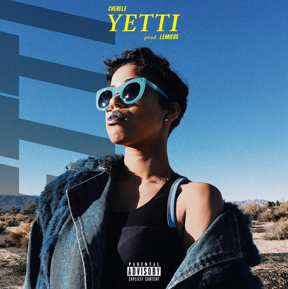 """Cherele is back with a progressive and refreshing sound for new track and visual """"YETTI."""" It is the first single off of her upcoming EP, """".phases//"""" - produced entirely by Lemieux of TSK. Directed by Parris Pierce in the Palmdale Desert of Los Angeles, California."""