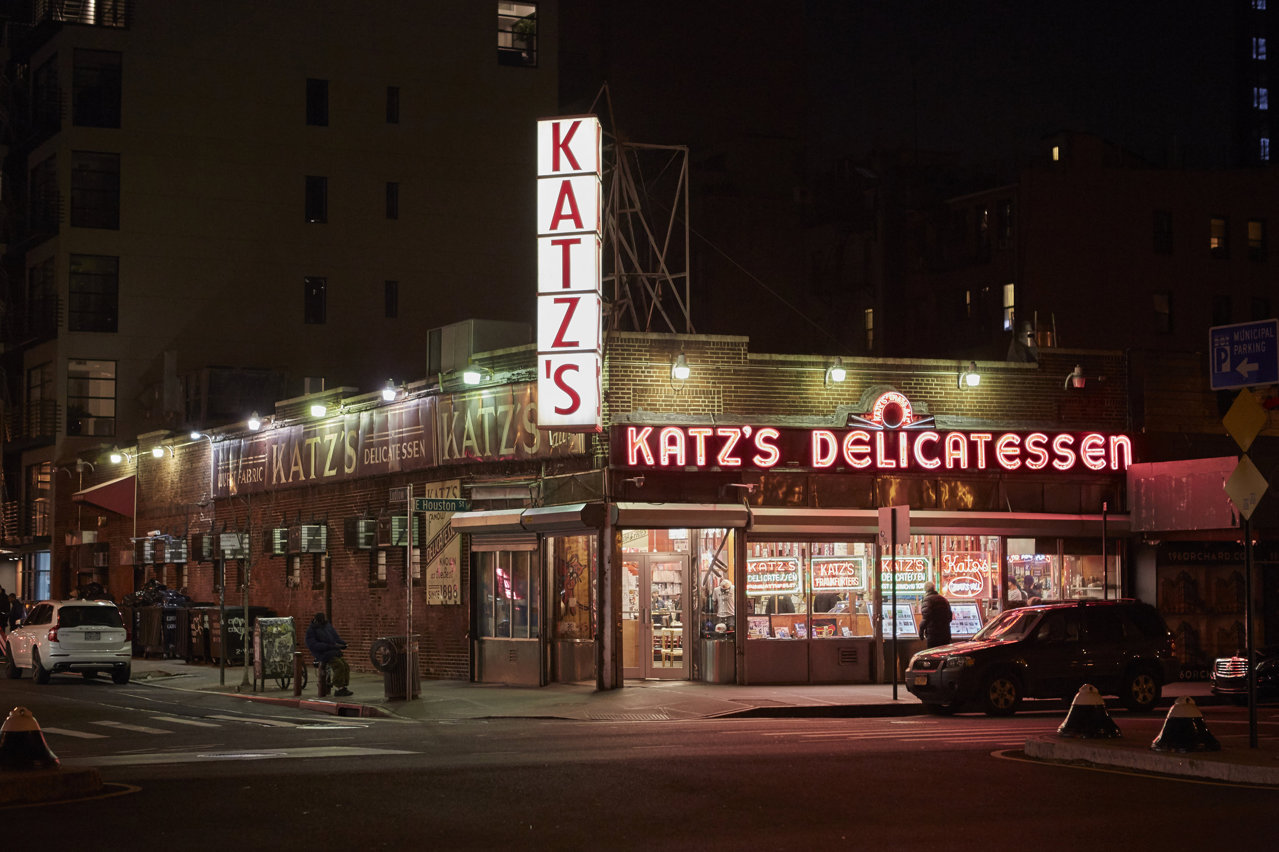 travel photography new york city nyc editorial commercial big apple tourism katz delicatessen deli