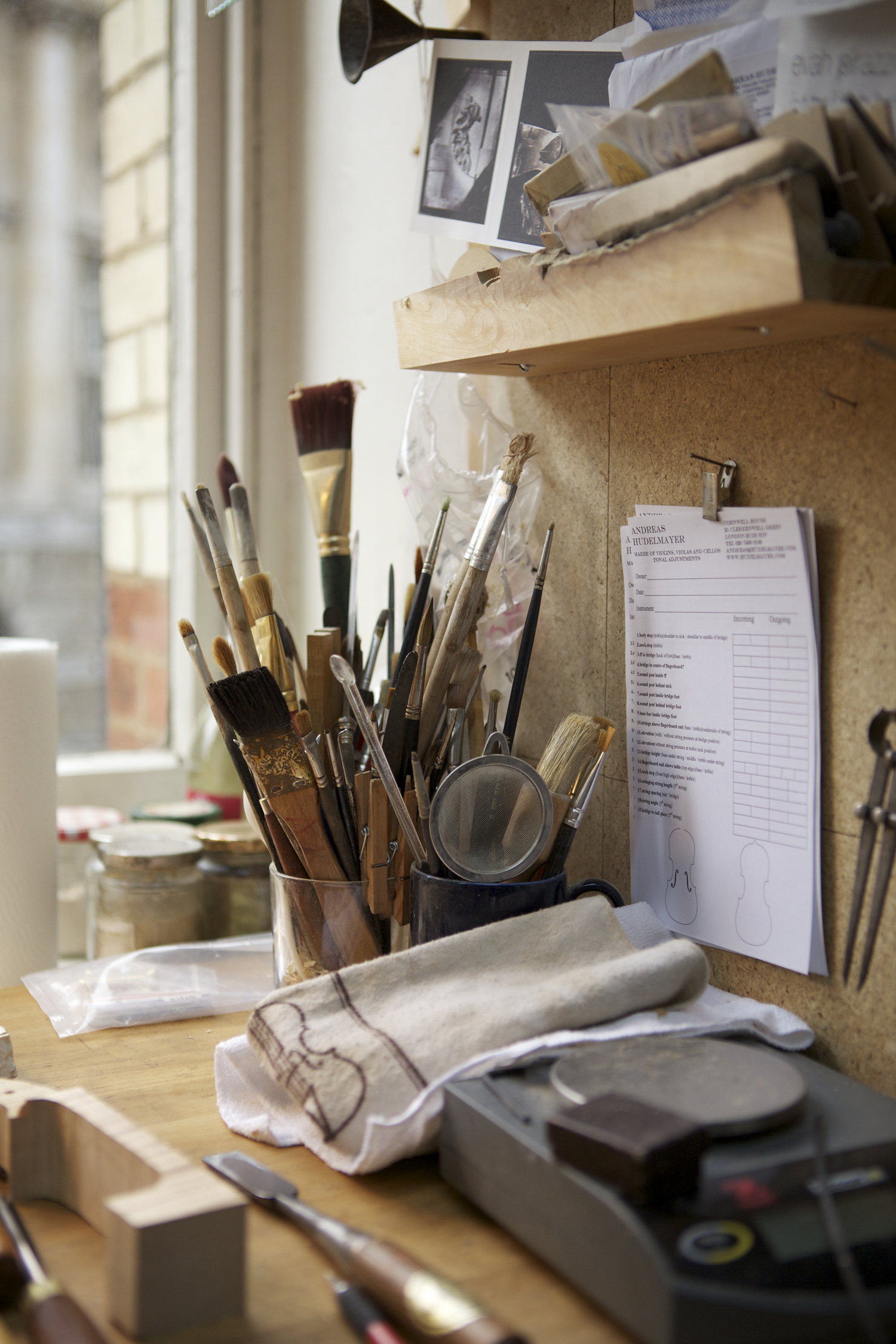 made by hand, hand makers and crafts people photographed in their workshops and studios. Tools, hands, processes and environmental portraits. Black Dog Publishing, Root and Bone Magazine