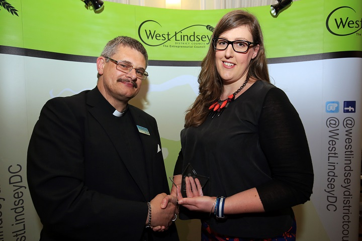 Lizzie Jordan West Lindsey District Council District Champion of the Year