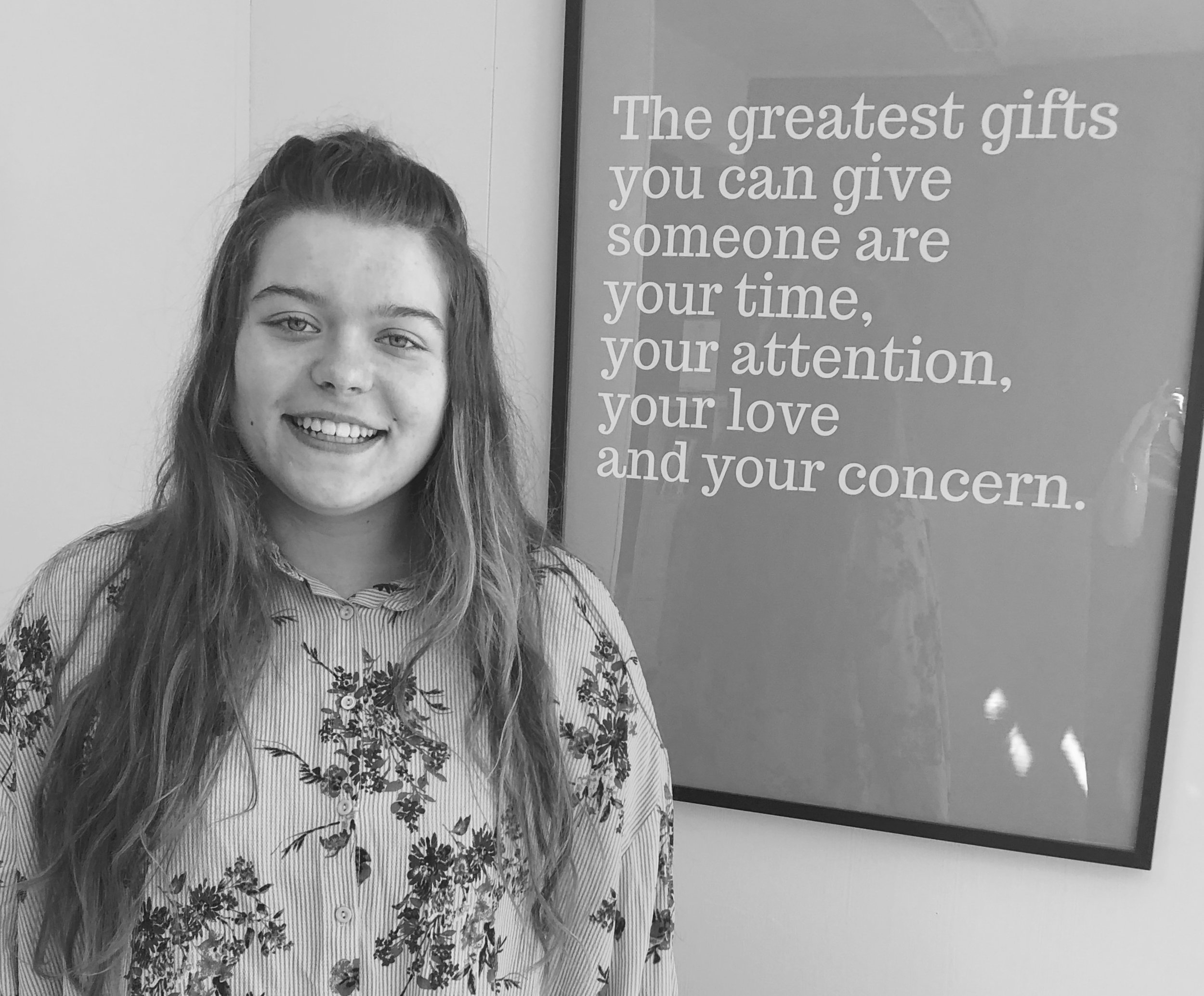 Zoe joined the Think2Speak team on work experience