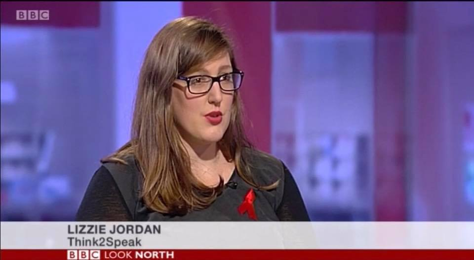 Lizzie Jordan Founder and CEO of Think2Speak on Look North with Peter Levy