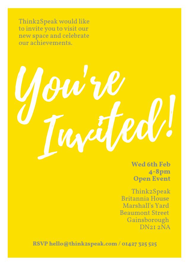 T2S 2019 Invite