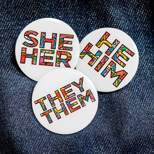 ThinkPronoun badges