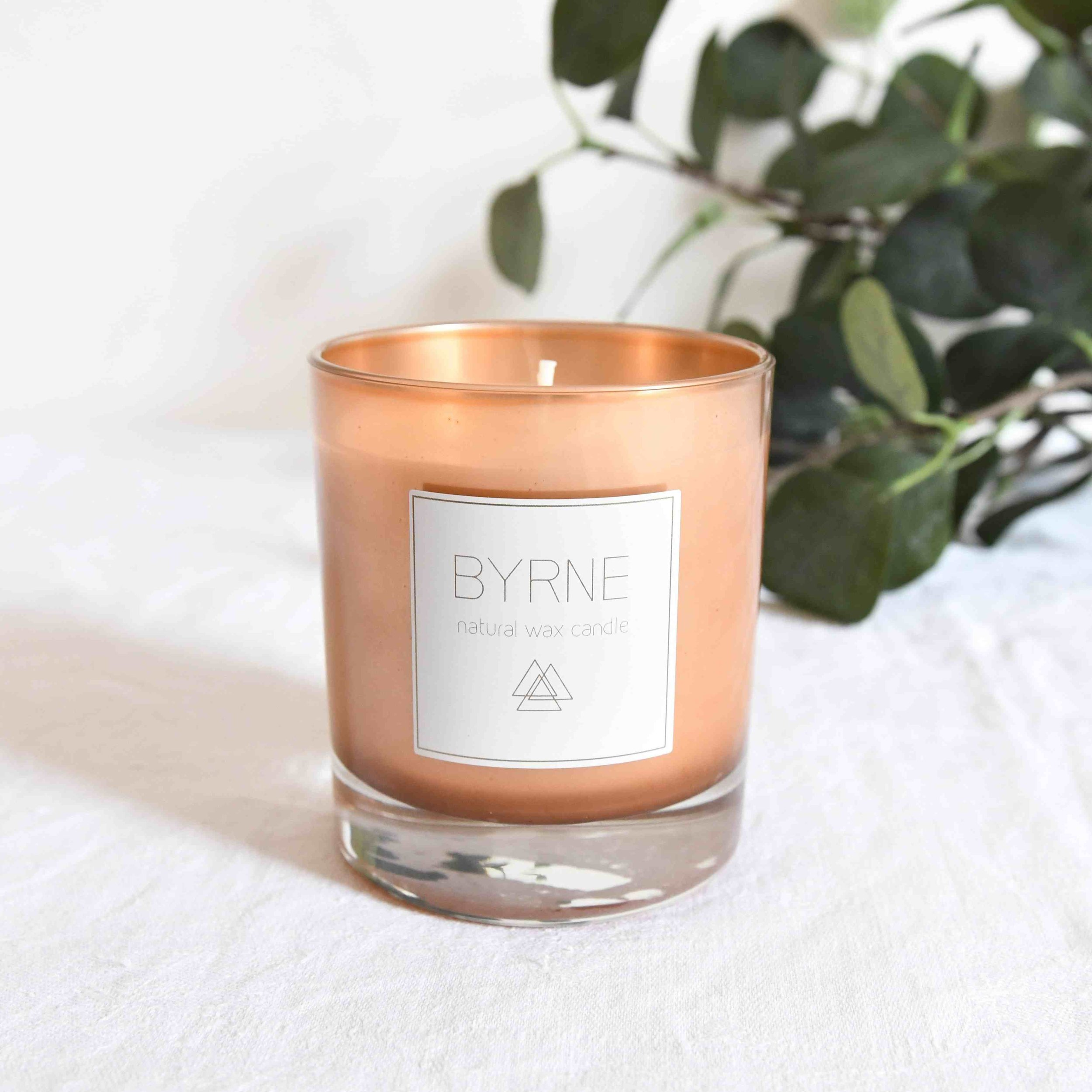 BYRNE CANDLES    (BUY IN THE TLA ONLINE SHOP)