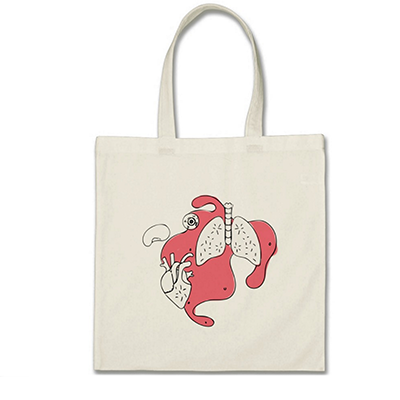 Guts and Glory Tote • $15.75