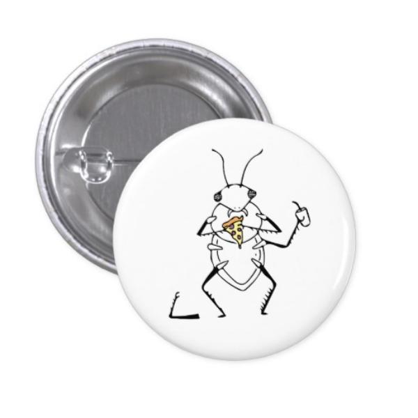 Pizza Beetle button