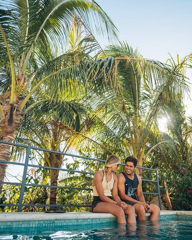 Poolside and entrance of Vivo Nosara. Tough to beat. #vivonosara #costarica #pool #hotel #puravida