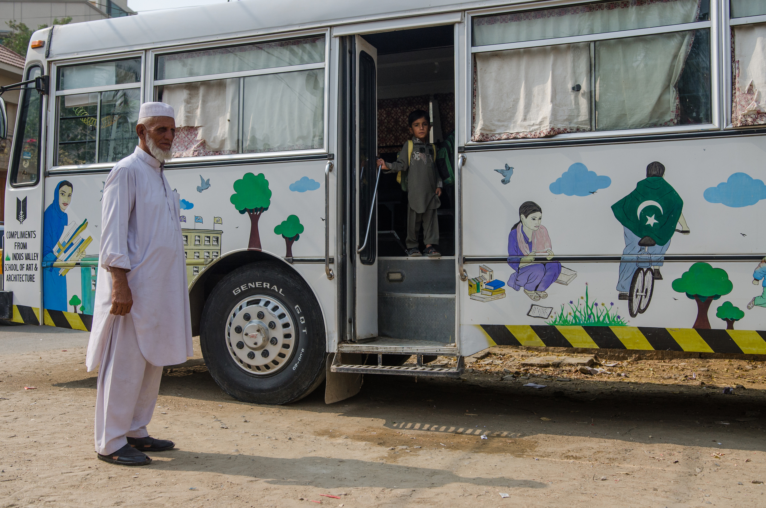 School in a Bus | Karachi (1/3)