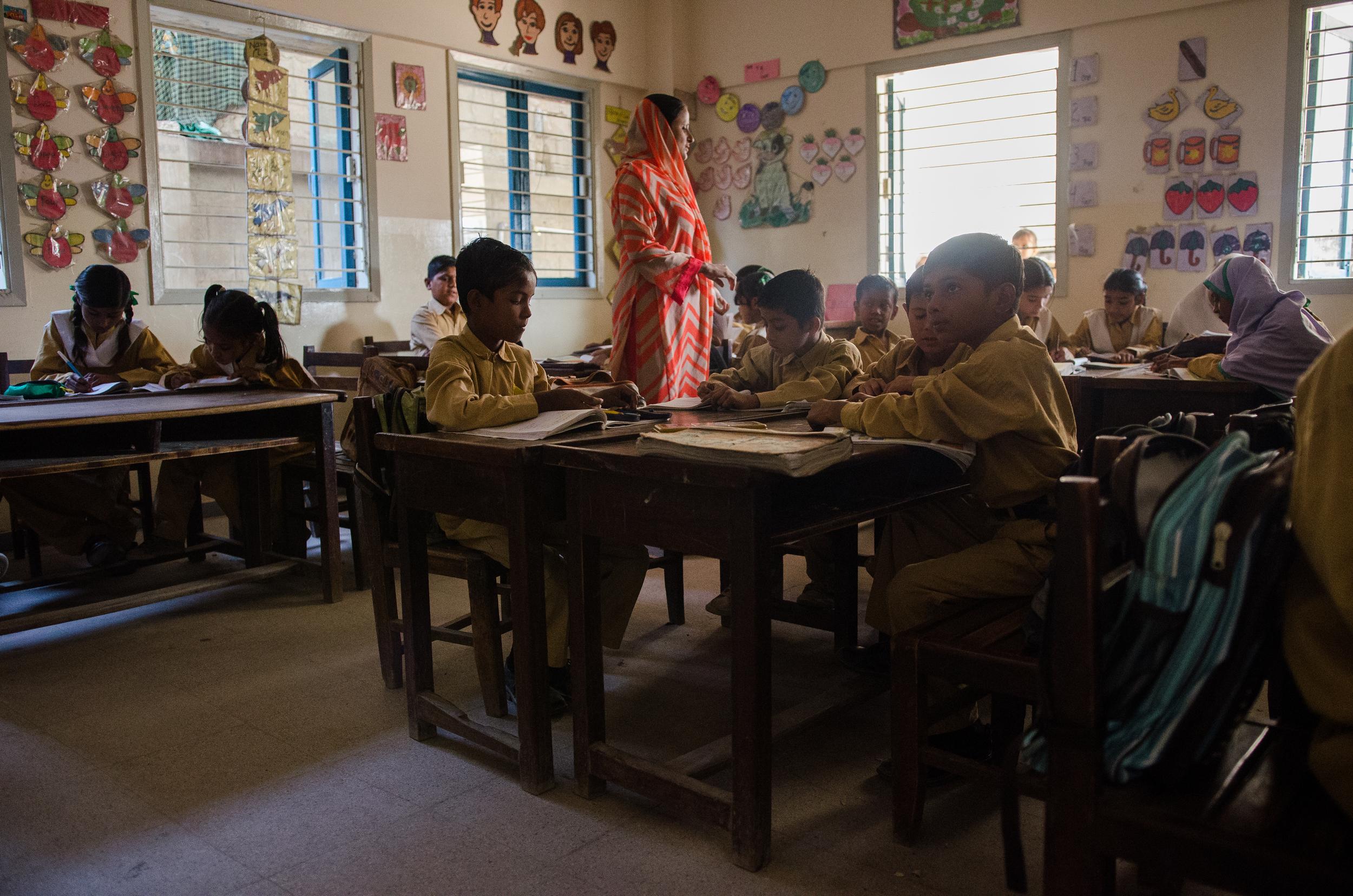 School in a Slum | Machar Colony, Karachi