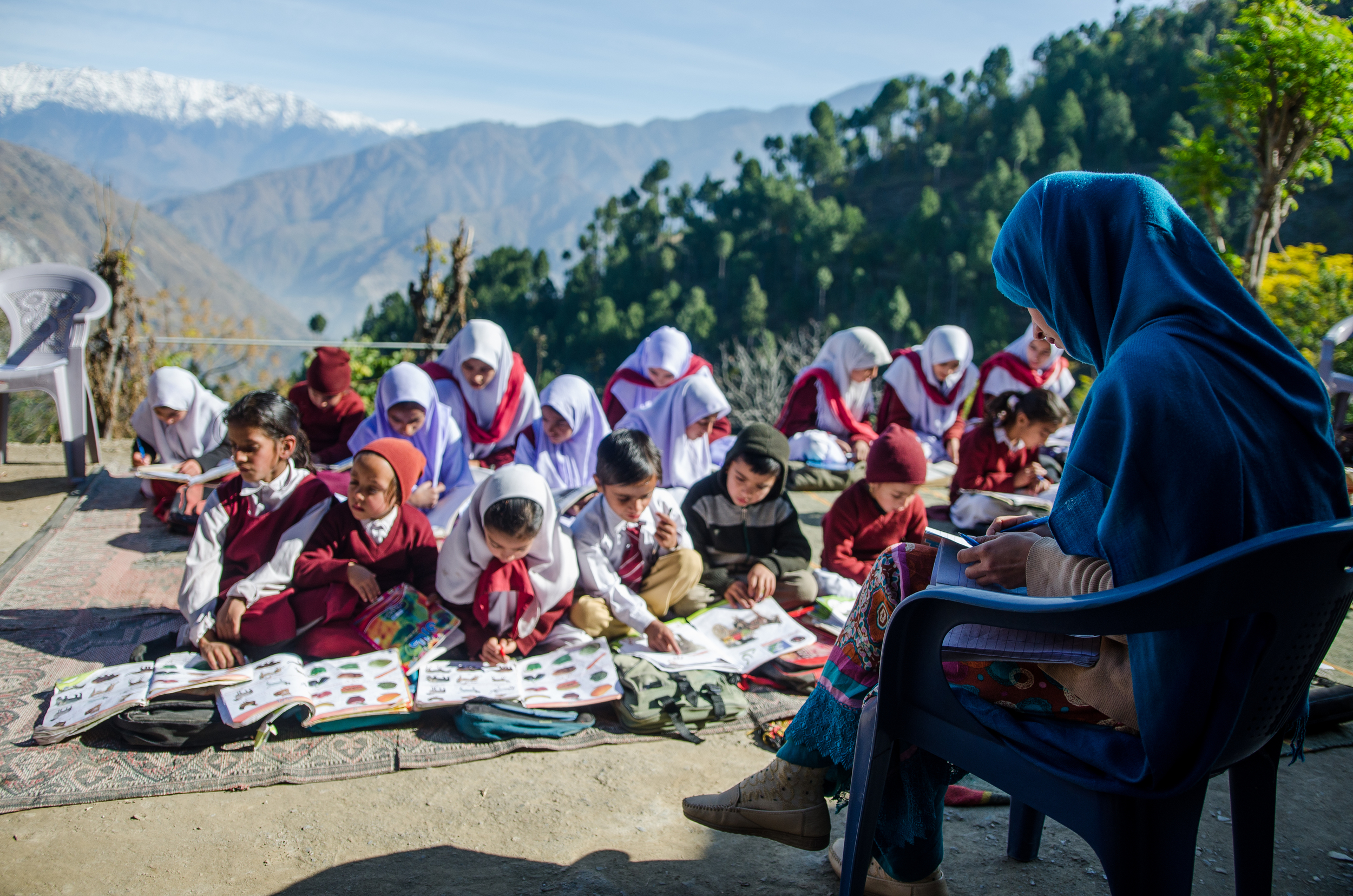 School On Top of a Mountain | Muzaffarabad (1/3)