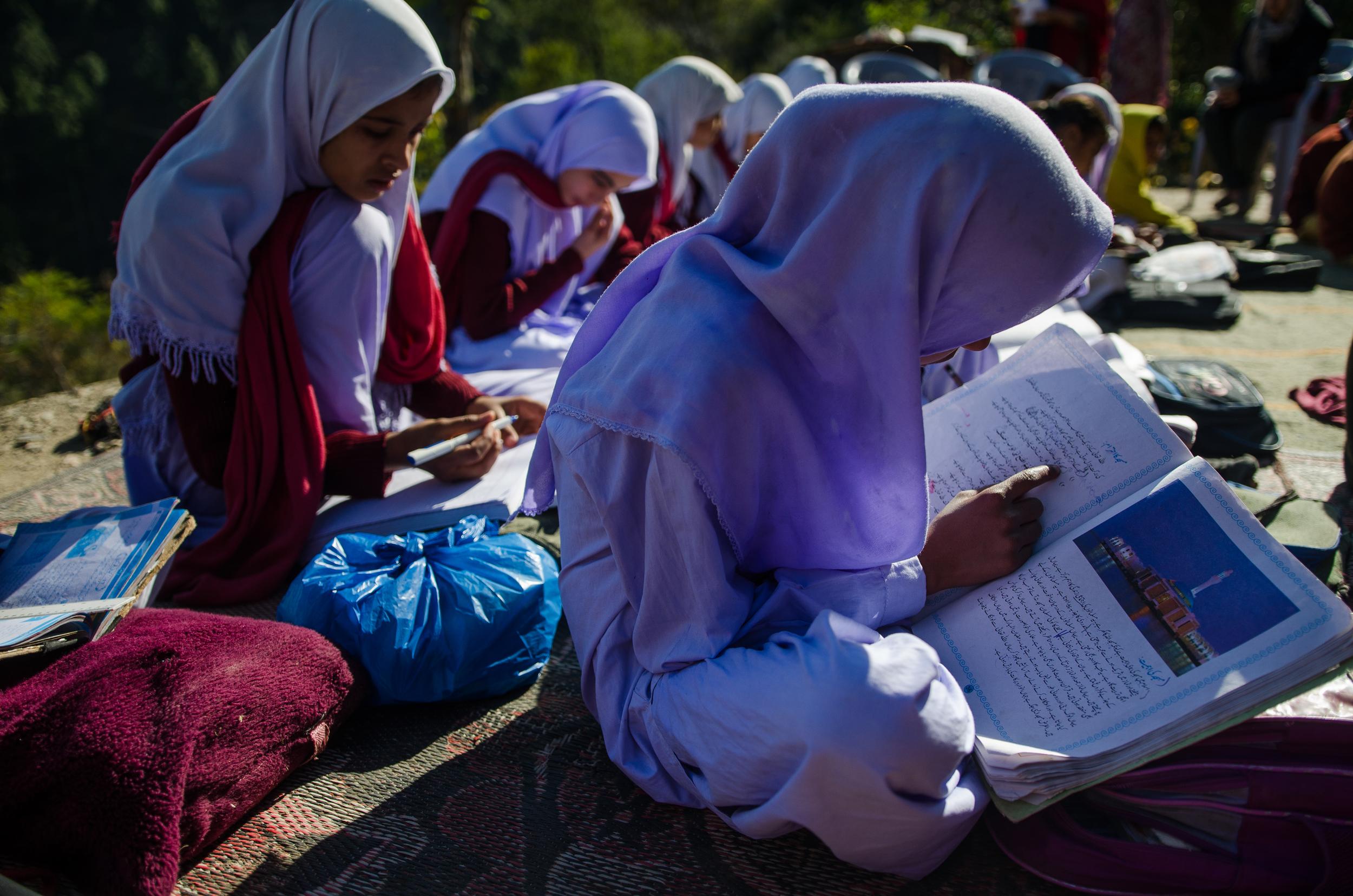 School On Top of a Mountain | Muzaffarabad (3/3)