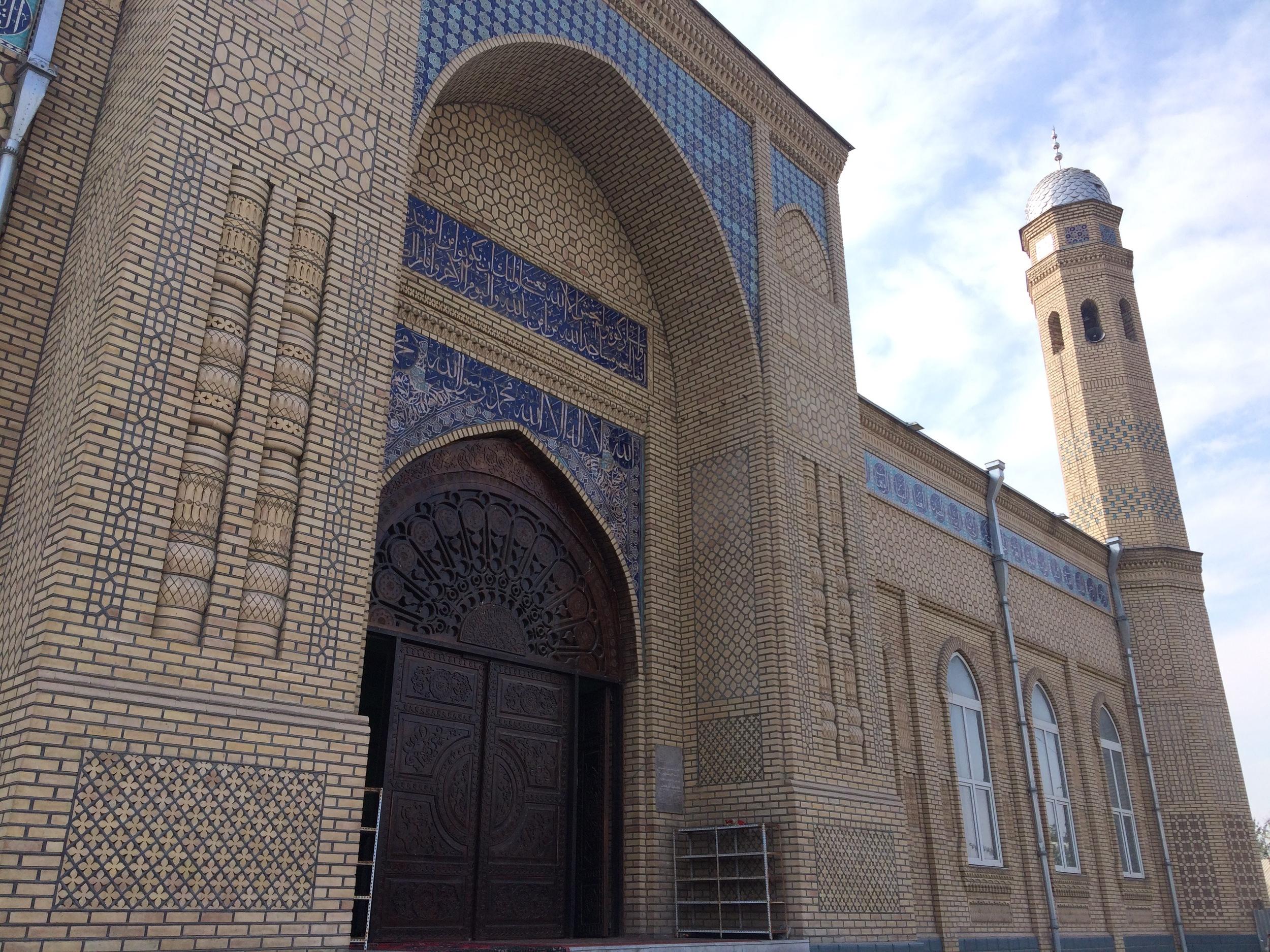 Aravan's mosque, established in 2006.