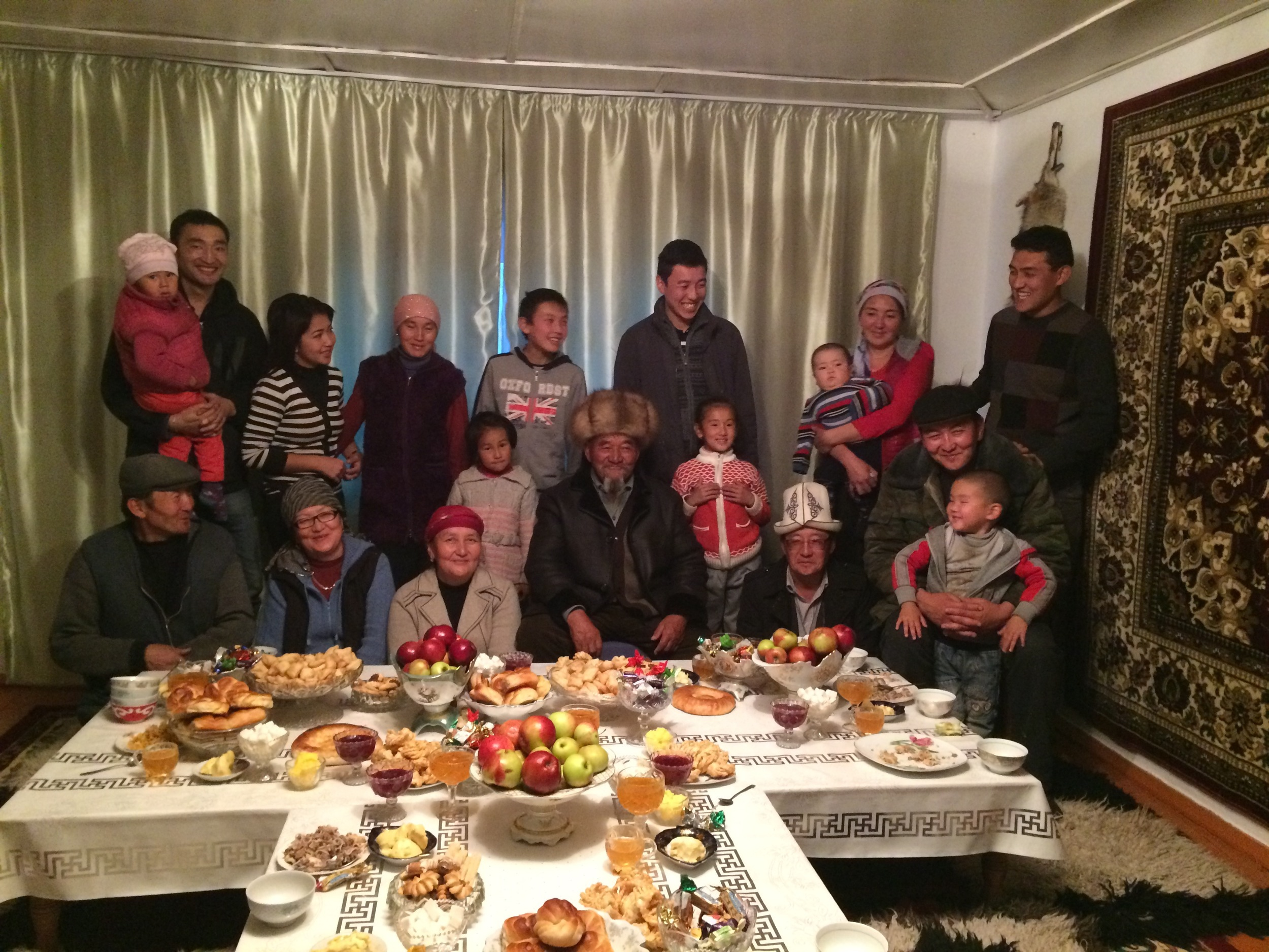 Our favorite family in Naryn