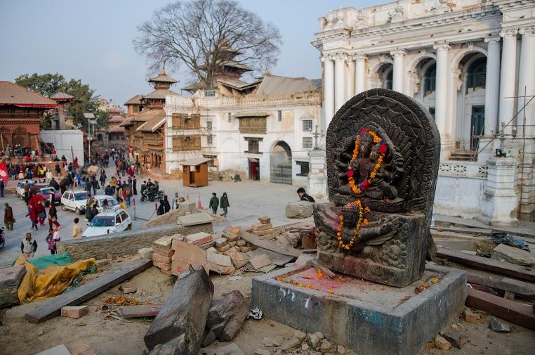 Durbar Square Destruction | DURBAR SQUARE, KATHMANDU (1/4)