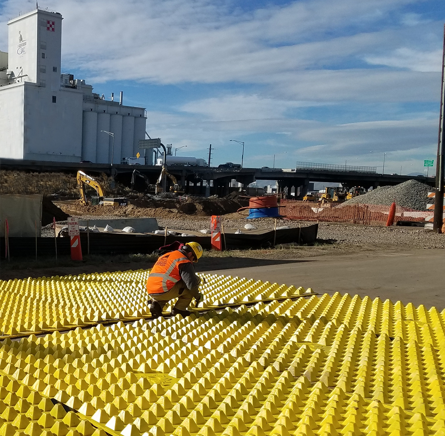 Cost Efficient   FODS Trackout control systems completely reusable, saving the cost of hundreds of tons of rip-rip per use. Since inspection, FODS has prevented over 100-million pounds of rock from being wasted.