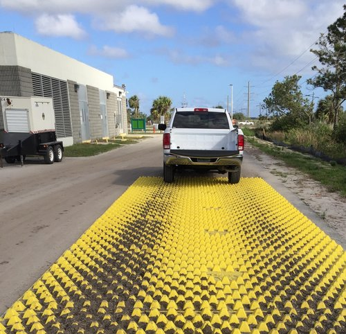 Reusability     A one-time investment will lead to years of best management practices on multiple infrastructure projects in any industry. FODS Trackout Control Mats offer an upgraded alternative to wheel wash systems and rumble plates.