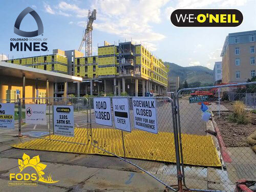 FODS_WeOneil_SchoolOfMines_constructionEntrance_constructionExit_FODSTrackoutControlMats_vehicleTrackingPads_mudControlMats_stabilizedConstructionEntrance.jpg
