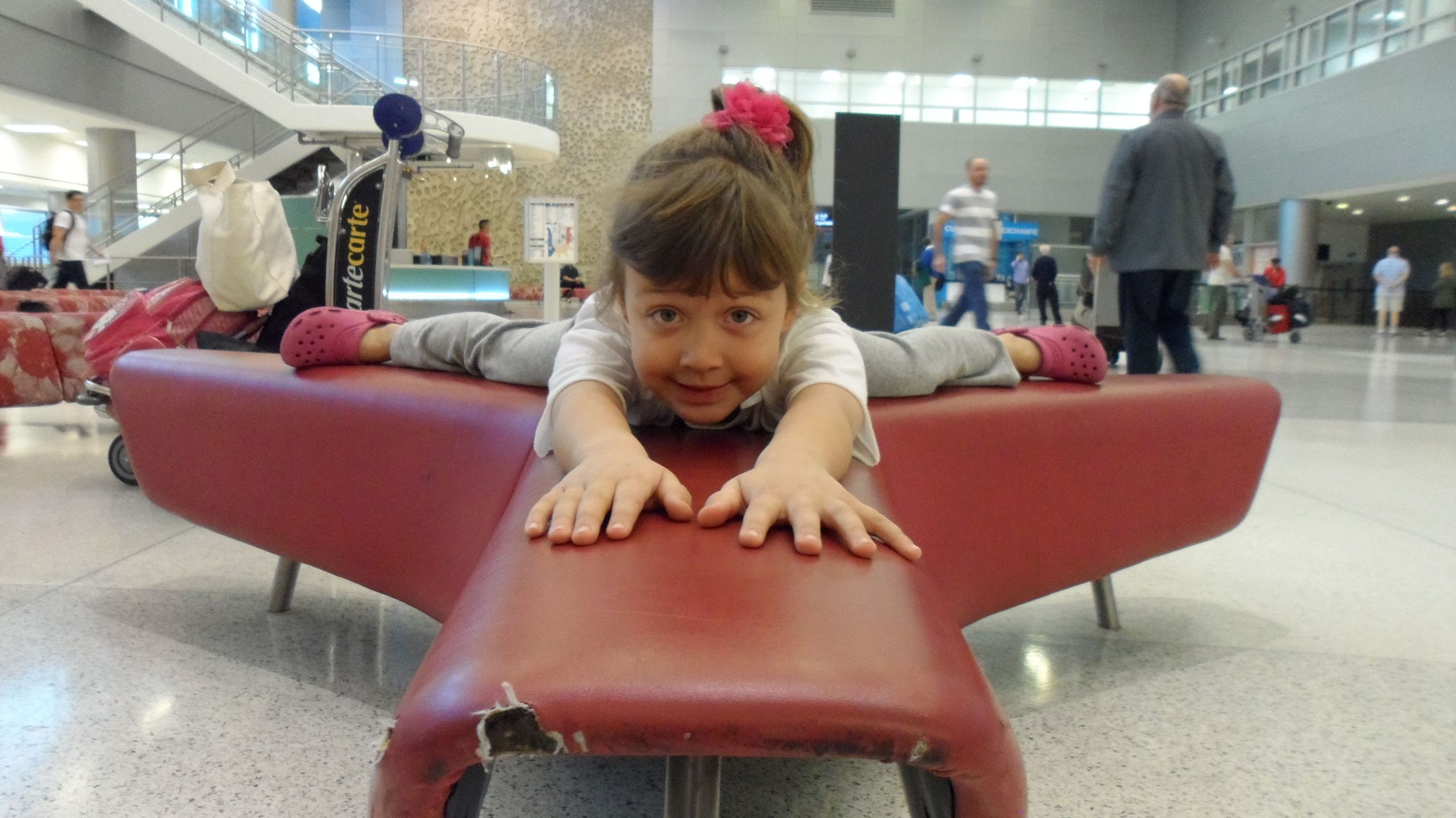 Fun at airports