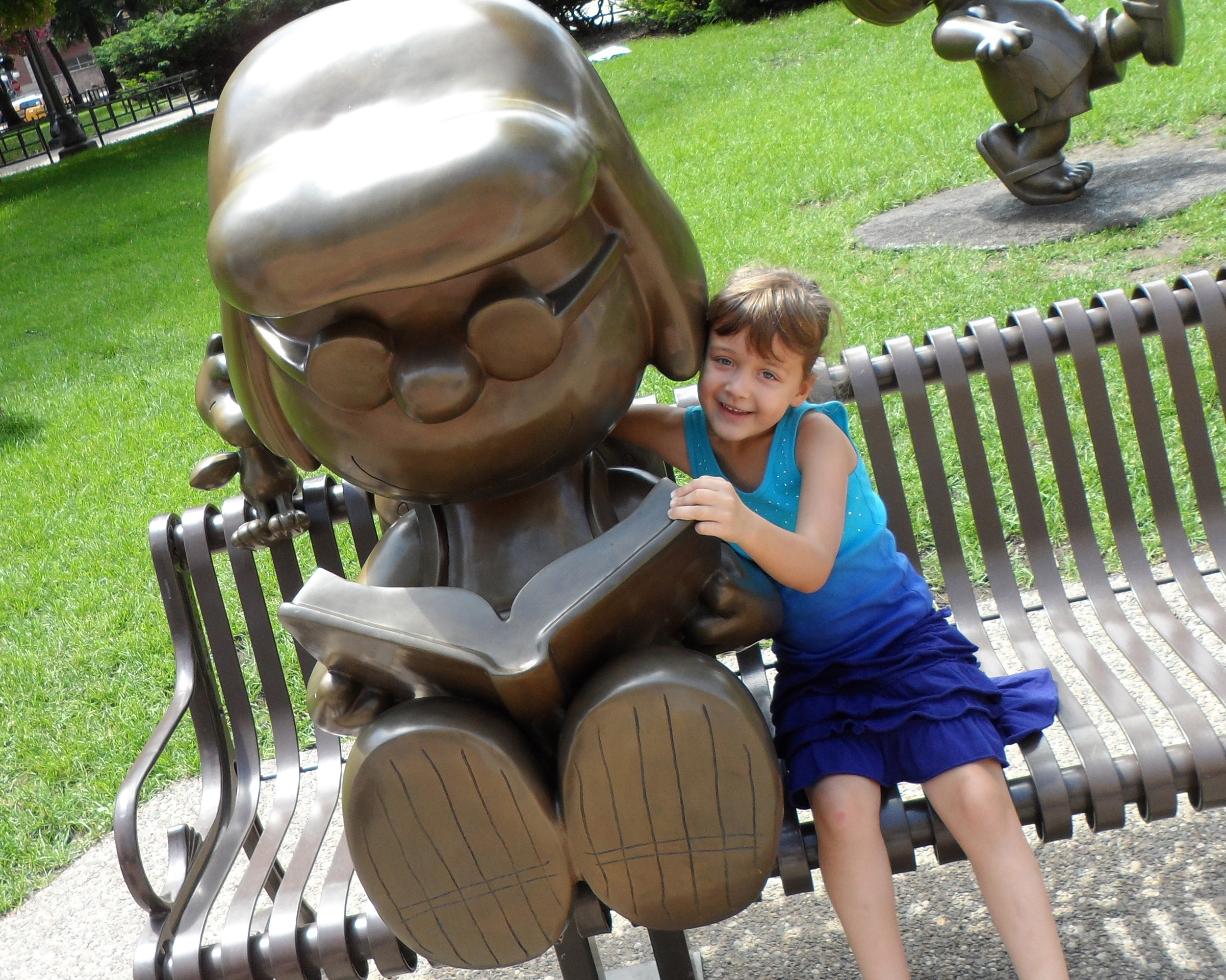 Snoopy Statues, Mears Park, St. Paul, MN