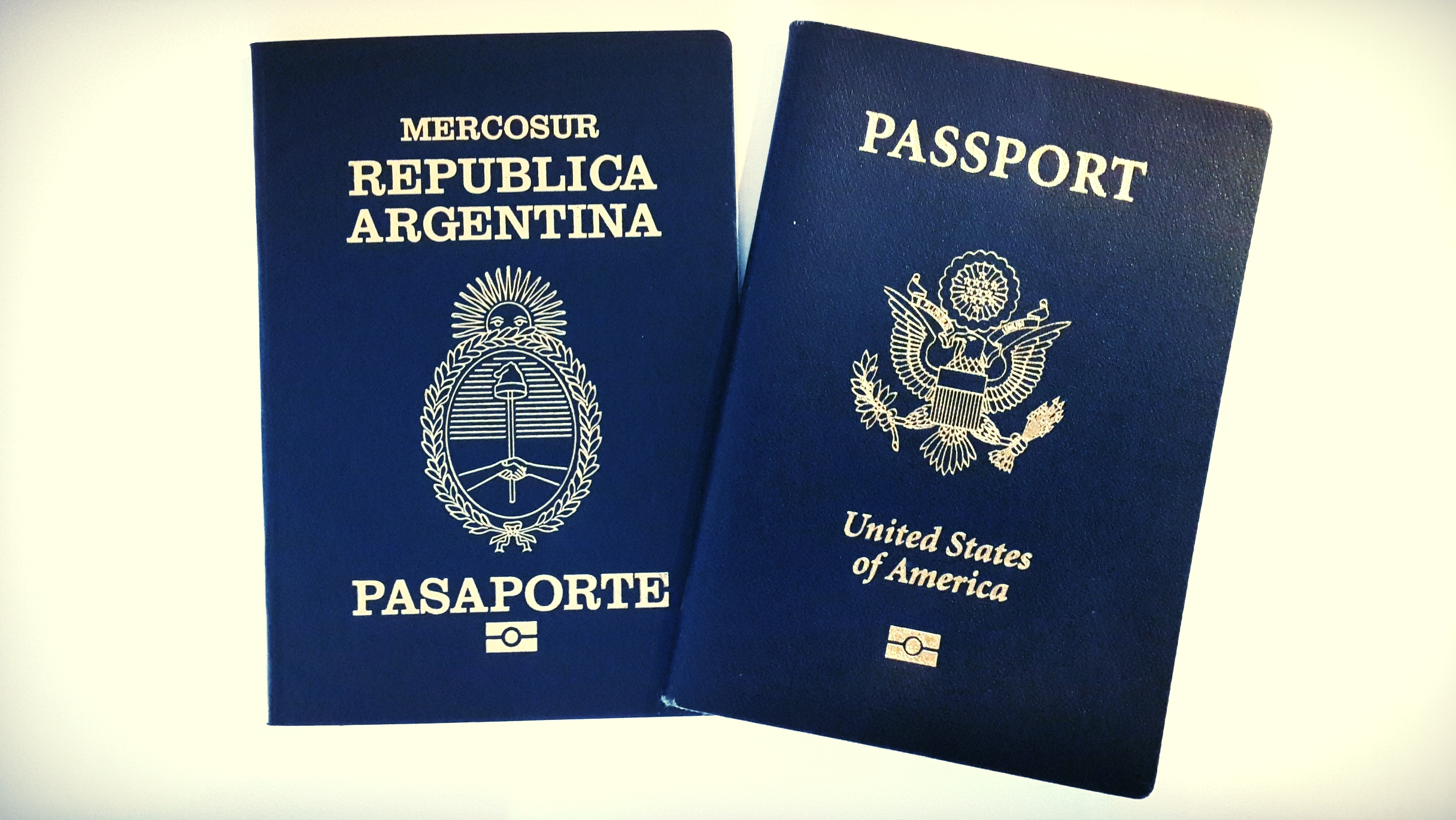 Our Argentine passports just arrived!
