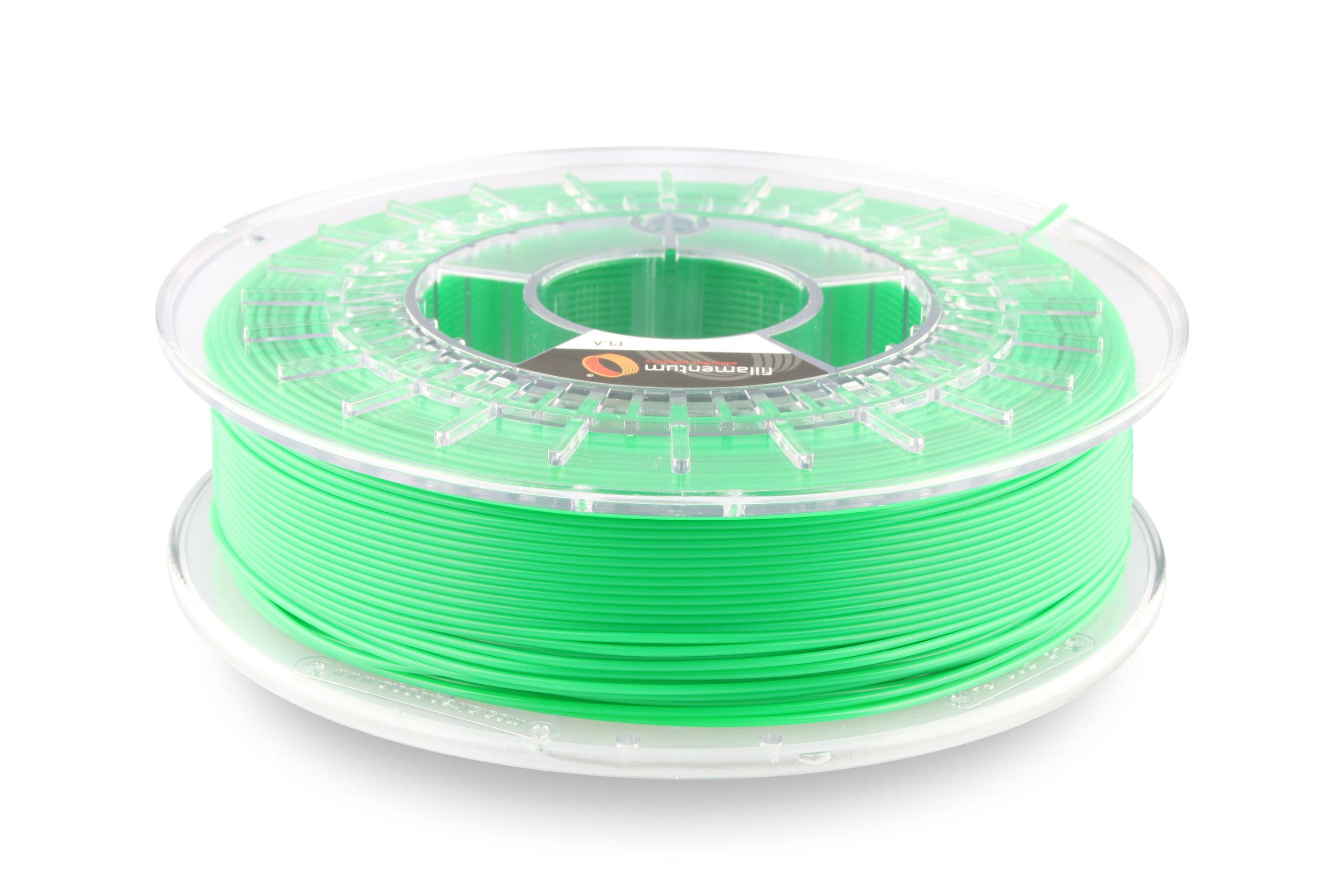 №13378 PLA Extrafill luminous green RAL 6038 (1,75мм/750г)
