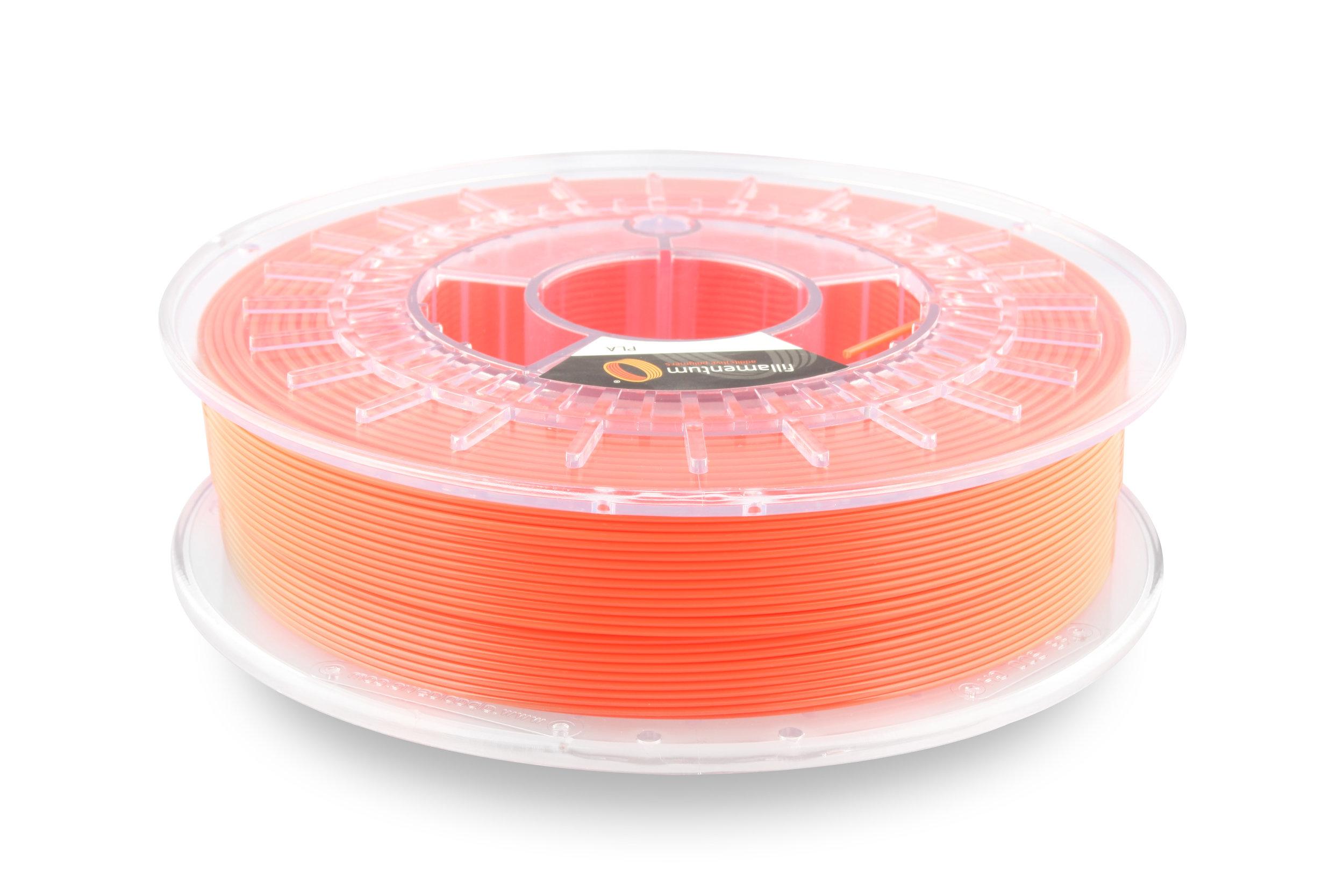 №13354 PLA Extrafill  luminous orange RAL 2005 (1,75мм/750г)