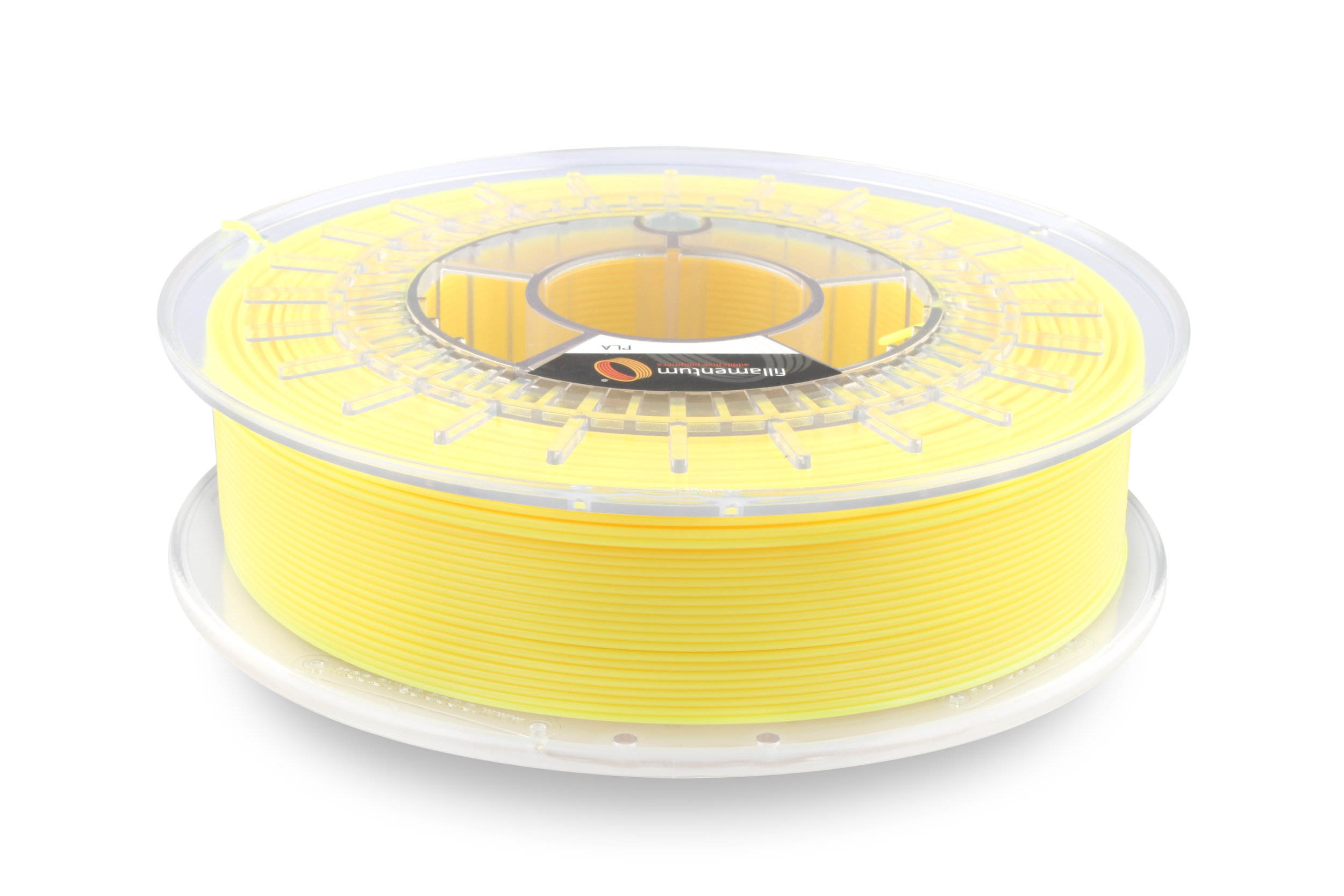 №13347 PLA Extrafill  luminous yellow RAL 1026  (1,75мм/750г)