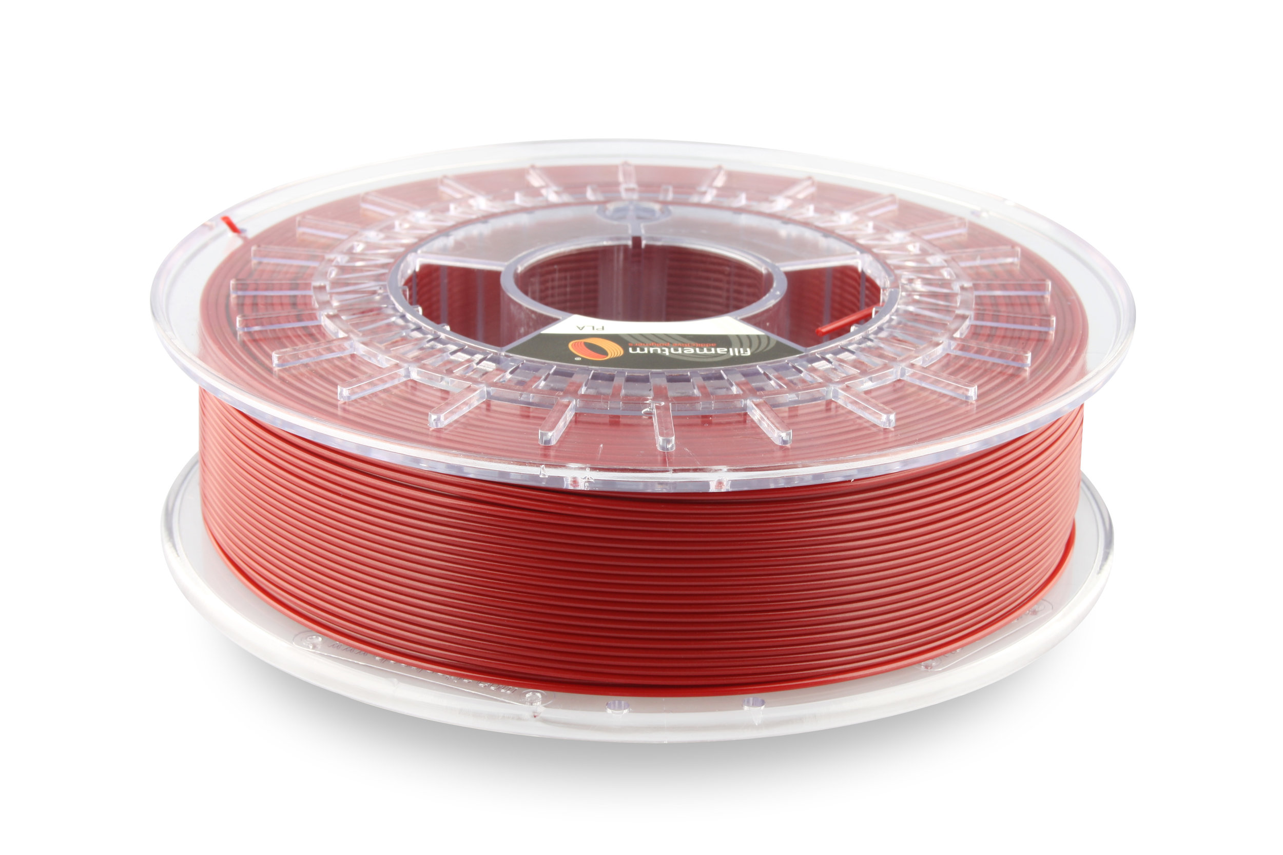 №13262 PLA Extrafill Premium  pearl ruby red RAL 3032 (1,75мм/750г)