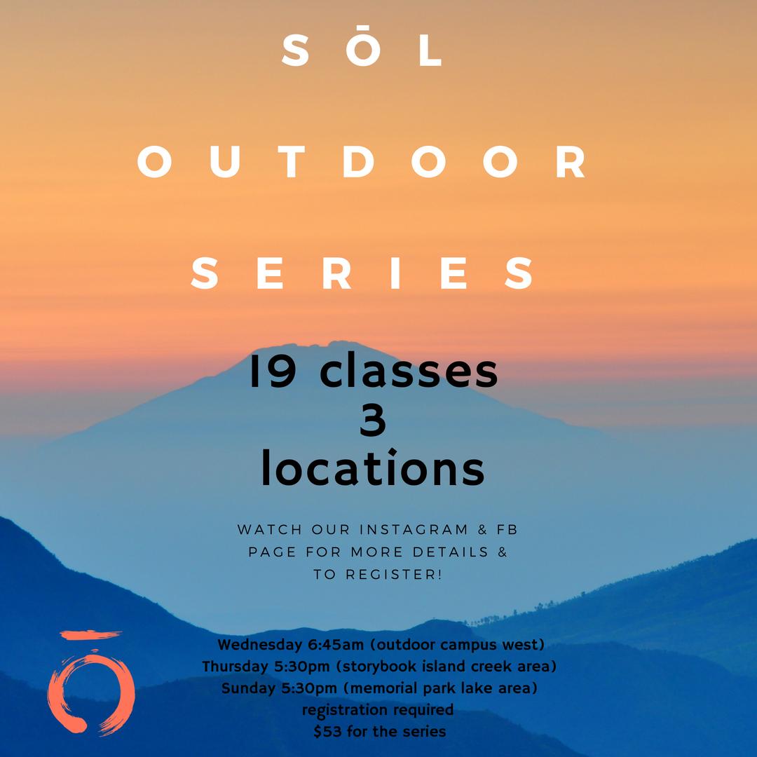 Sōl Outdoor Summer Series, 2018