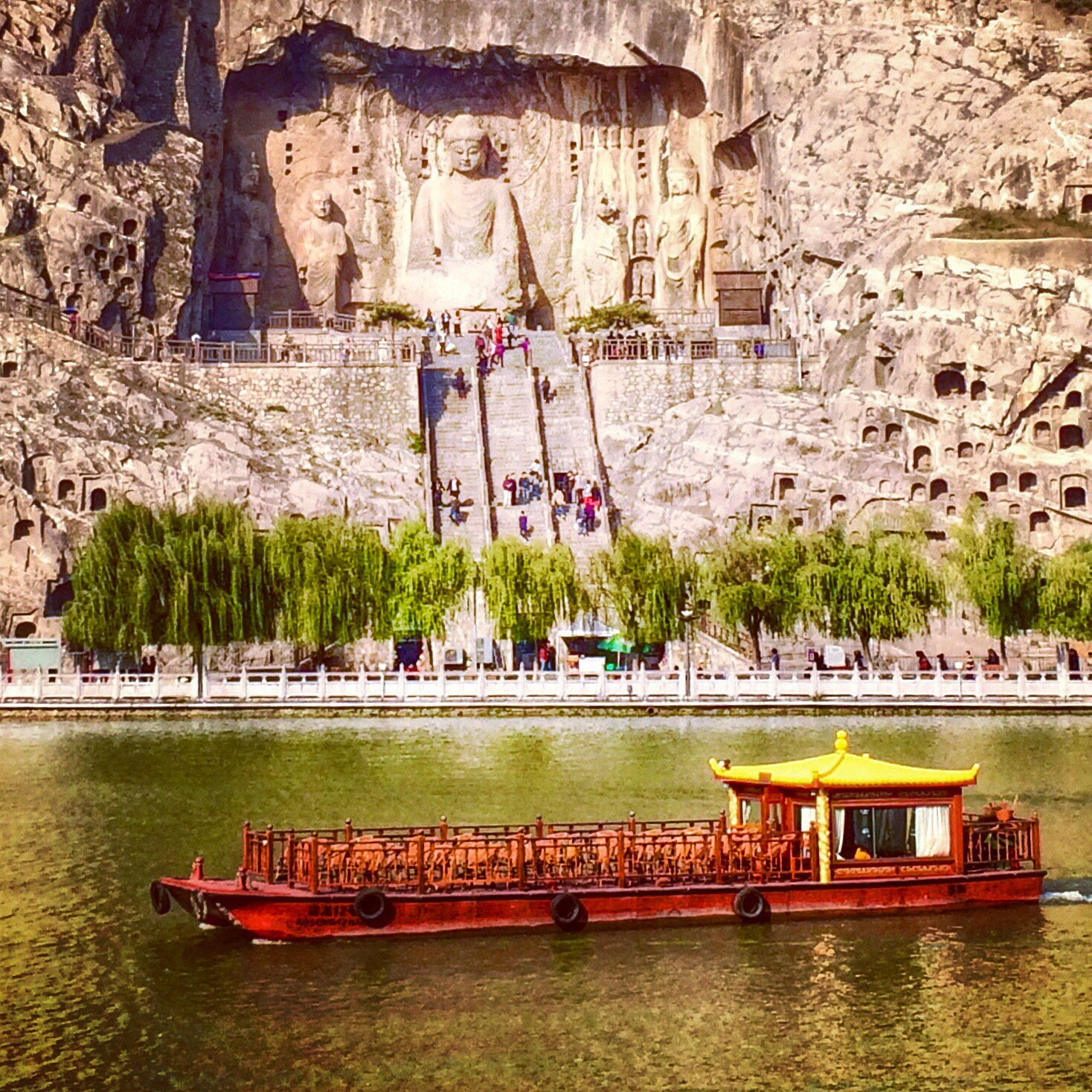 The Longmen Grottoes, Luoyang, China