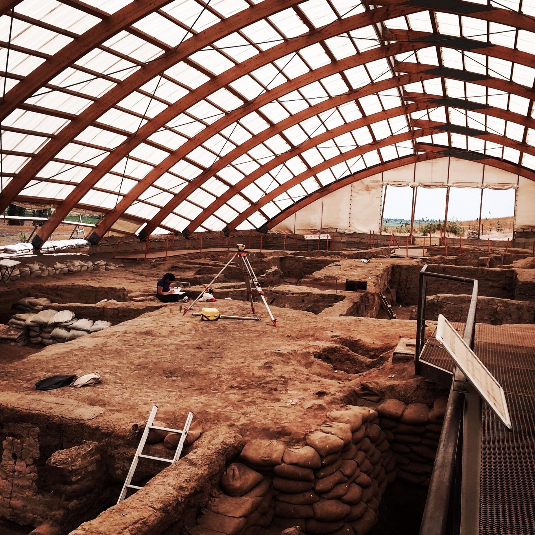 The Dig at Catalhoyuk
