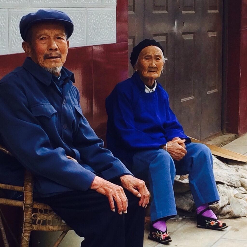 Wang Huiyuan and her husband