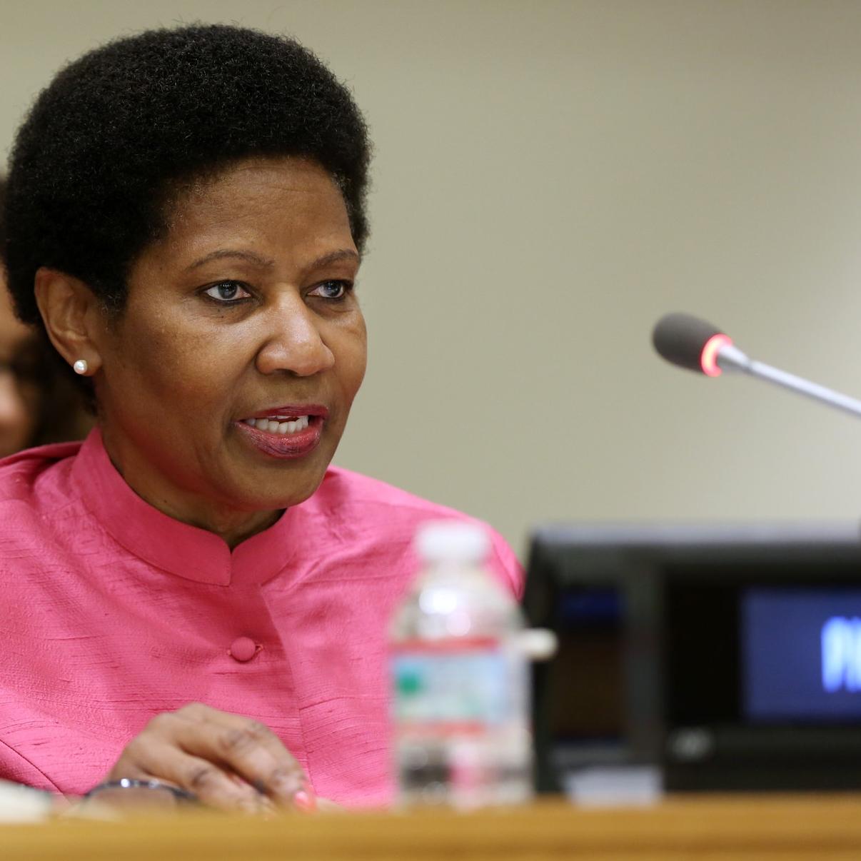 Phumzile Mlambo-Ngcuka at the UN