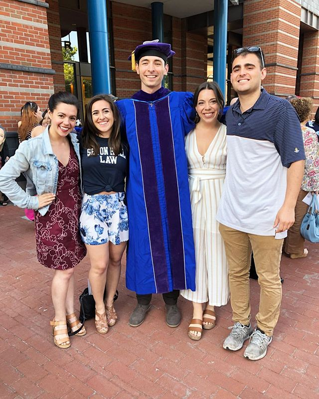 Congrats Law Grad!!! We're so proud of you! #savages #setonhalllaw