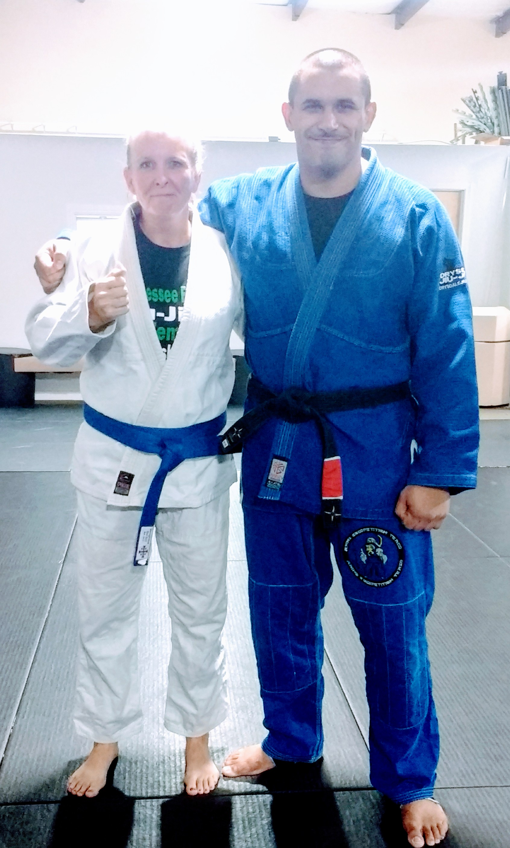 Miss Kitty to Blue Belt