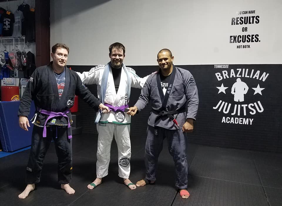 Jeremiah Beard to Purple Belt