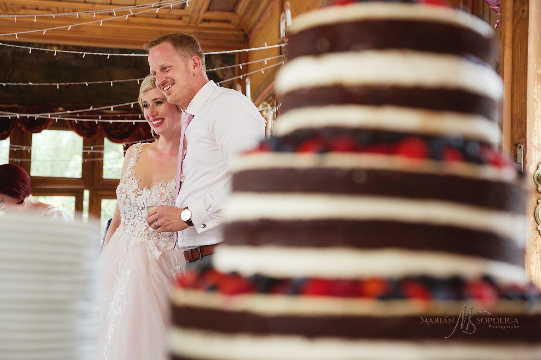 svatebni-fotka-zenicha-a-nevesty-krajeni-dortu-pavilon-grebovka-