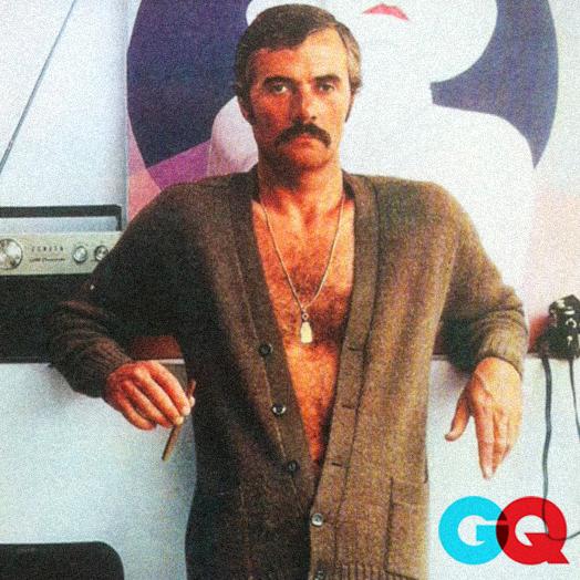 Joseph Hutchinson in British GQ, 1974