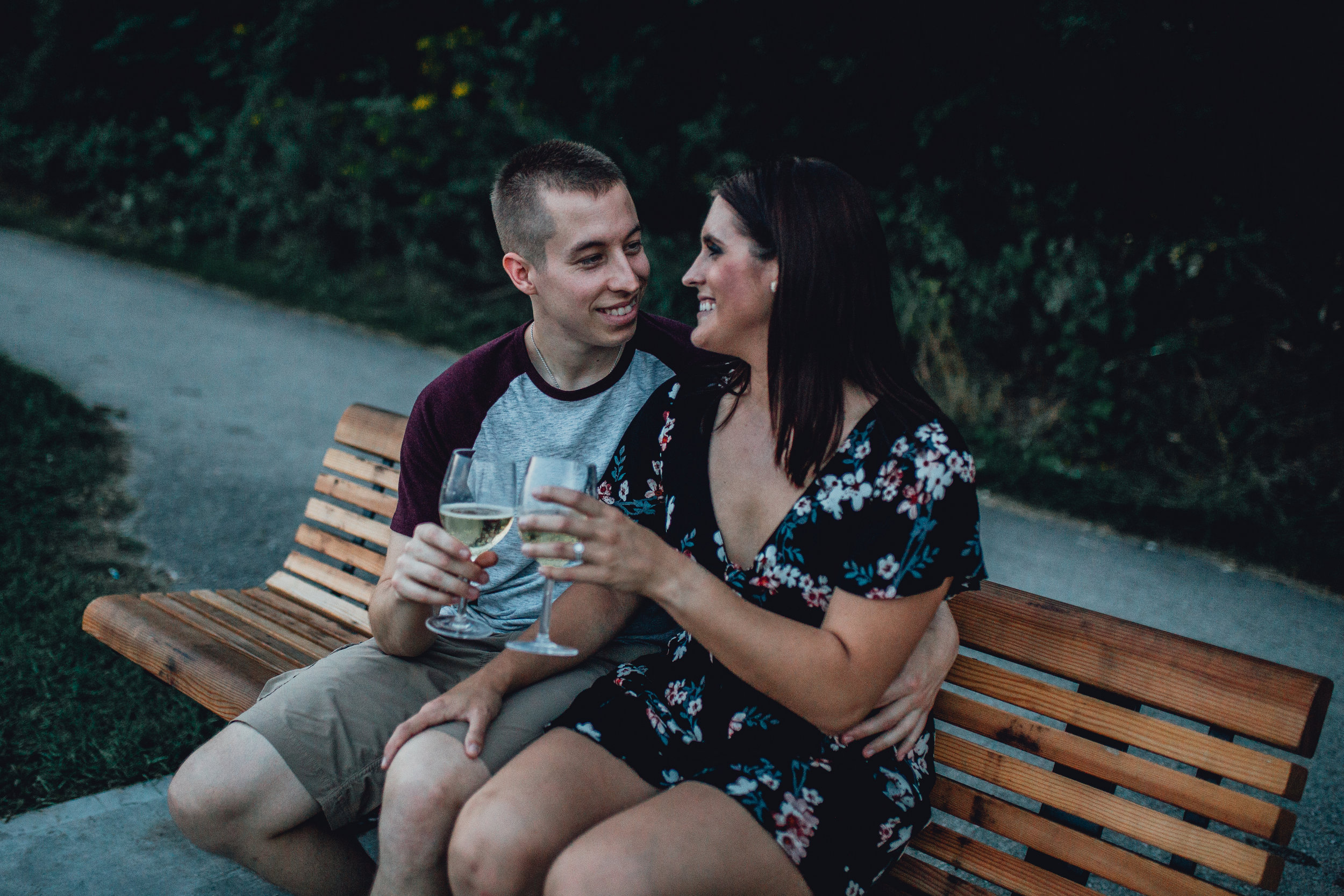 Milwaukee Beach Engagement Session - Emerald Tide Photography