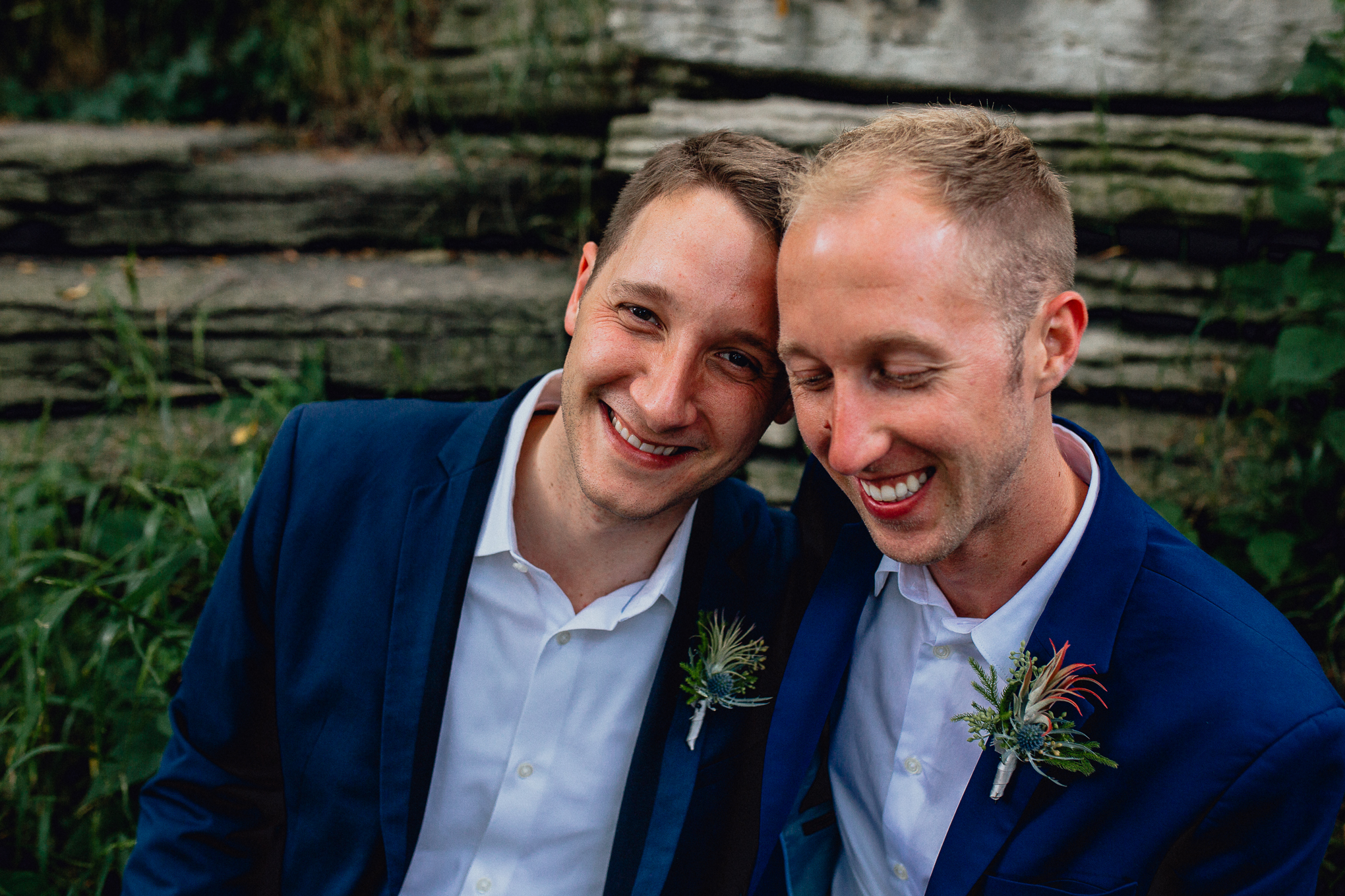 Grooms-laughing-Wedding-portrait-alfred-caldwell-lily-pool.jpg