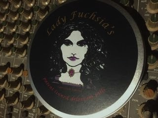 """Lady Fuchsia's Tinned Delerium  4"""" Vinyl 'tinned'  Single    ( Somnambulist/Indian Summer) Out of stock"""