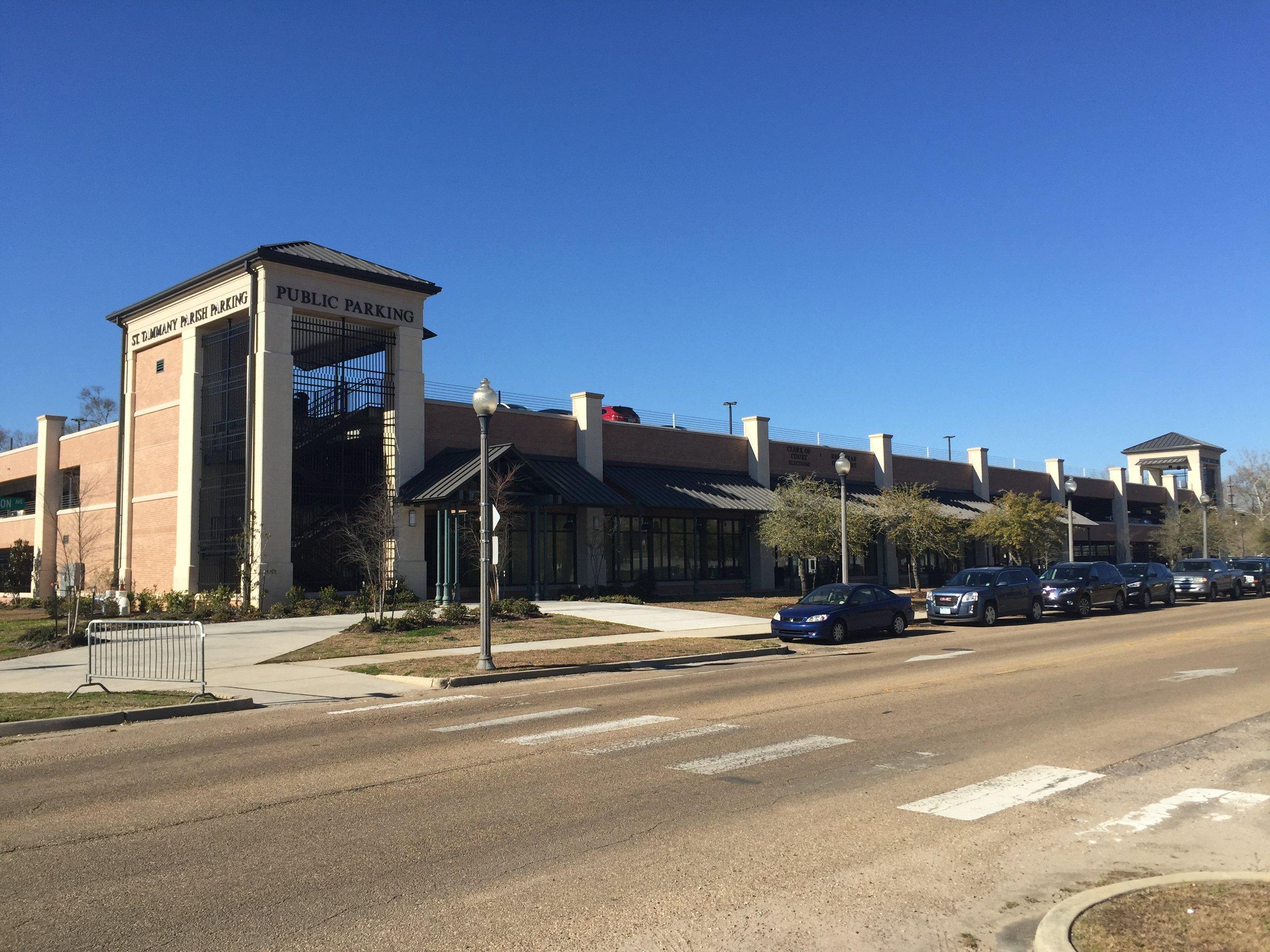 St. Tammany Parish Justice Center   Parking Garage